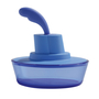 Picture of Alessi Ship Shape Container, Blue