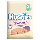 Picture of Huggies Newborn Economy Size 2 3-6kg 62 per pack