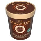 Picture of Magnum Chocolate & Vanilla 450ml