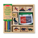 Picture of Melissa & Doug Dinosaur Stamp Set