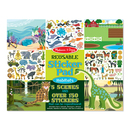 Picture of Melissa & Doug Reusable Sticker Pad - Habitats