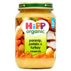 Picture of Hipp Organic Parsnip, Potato & Turkey Casserole 190g
