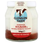 Picture of Glenilen Farm Rhubarb Yoghurt 160g
