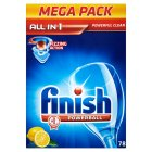 Picture of Finish All In One Lemon Tablets 78 per pack