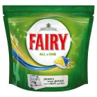 Picture of Fairy Dishwasher Tablets All in One Lemon 24 per pack