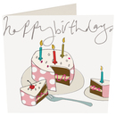 Picture of Caroline Gardner Birthday Cake Card