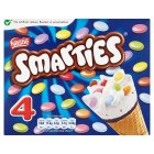 Picture of Nestle Cone Smarties 4 x 110ml