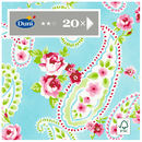 Picture of Duni 3ply Paisley Napkin 33cm 20 per pack