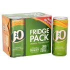 Picture of J2O Orange & Passionfruit Fridge Pack 6 x 250ml