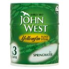 Picture of John West Yellowfin Tuna Steak in Springwater 3 x 160g