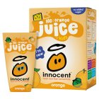 Picture of Innocent Kids 100% Orange Juice 4 x 180ml