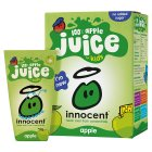 Picture of Innocent Kids 100% Apple Juice 4 x 180ml