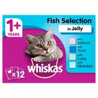 Whiskas Pouch Fisherman's Choice in Jelly
