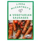 Linda McCartney 6 Frozen Vegetarian Sausages
