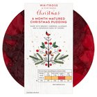 Richly Fruited Christmas Pudding Waitrose