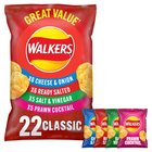 Walkers Variety Pack Crisps