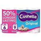 Cushelle Toilet Tissue White