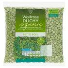 Frozen Organic Petits Pois Waitrose