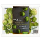 Trimmed Brussels Sprouts - Sweeter Tasting Variety Waitrose