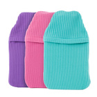 Hot Water Bottle 2L, Pink, Purple or Turquoise
