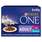Purina One Ocean Fish in Gravy Pouch
