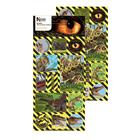 The Natural History Museum Dinosaur 3D and Lenticular Stickers 3+