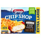 Young's Bubbly Battered Chip Shop Cod Fillets 2 XL Frozen
