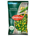 Birds Eye Peas & Sweetcorn Mix Resealable Frozen