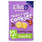 Ella's Kitchen Raisins & Spelt Cookies