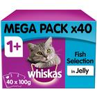 Whiskas Pouch Fishermans Choice in Jelly