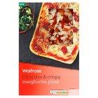 Ultra Thin & Crispy Margherita Pizza Waitrose