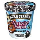Ben & Jerry's Joy to the Swirled Ice Cream