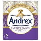 Andrex Gorgeous Comfort Quilts Toilet Tissue