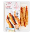 12 Breaded King Prawns Waitrose