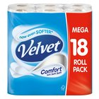 Triple Velvet White Toilet Tissue