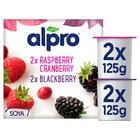 Alpro Raspberry / Blackberry Yogurt Alternative