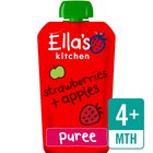 Ella's Kitchen Organic Strawberries & Apples Stage 1