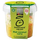 Innocent Thai Coconut Curry Veg Pot