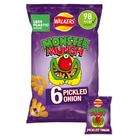 Walkers Monster Munch Pickled Onion Snacks