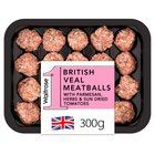 Veal Meatballs with SunDried Tomatoes 350g Waitrose
