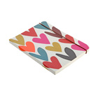 Caroline Gardner Notebook Hearts