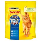 Go-Cat Crunchy & Tender Salmon, Tuna & Vegetables