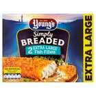 Young's 2 Crunchy Breadcrumbed  XL Fish Fillets Frozen