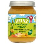 Heinz Mum's Own Vegetable & Chicken Casserole 4 Mths+